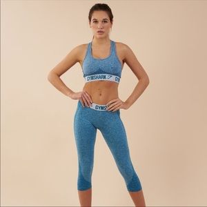 NWT Gymshark flex cropped leeching deep teal